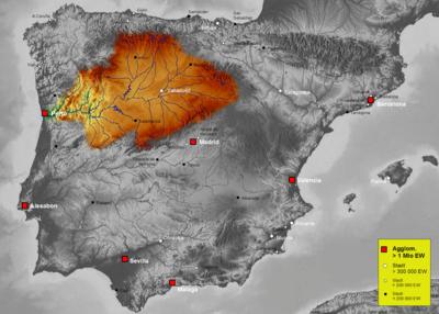 Cuenca Del Duero Mapa.Cuenca Hidrografica Del Duero Wikipedia La Enciclopedia Libre