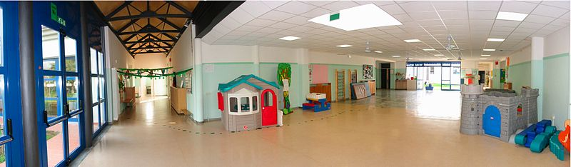 Kindergarten in Italy: Allende School in Collecchio (Parma) by  	Vincenzo Mainardi 30 March 2005