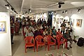 Spectators - Biswatosh Sengupta Solo Exhibition Inauguration - Kolkata 2015-07-28 3211.JPG