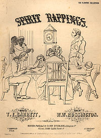 By 1853, when the popular song Spirit Rappings was published, Spiritualism was an object of intense curiosity.