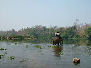 Srepok River - Srepok river at Ban Don, Buôn Đôn, Đắk Lắk, Vietnam