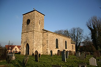 Willoughton - Image: St.Andrew's church, Willoughton, Lincs. geograph.org.uk 113734