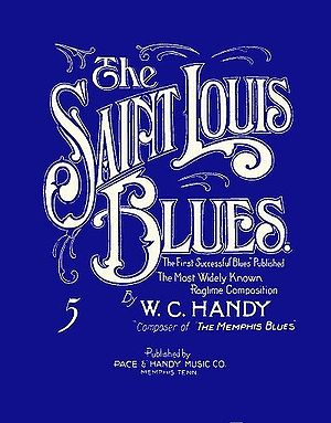 Saint Louis Blues (song) - Image: St. Louis Blues cover