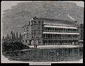 St. Thomas's Hospital; when temporarily in Surrey Gardens, v Wellcome V0013574.jpg