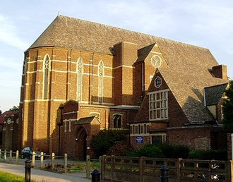 Isleworth - St Francis of Assisi parish church, Great West Road