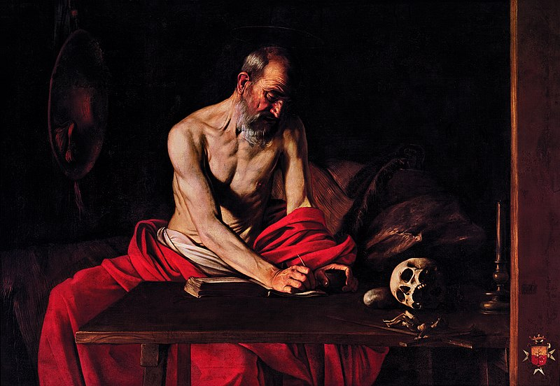 File:St Jerome by Michelangelo Merisi da Caravaggio.jpeg
