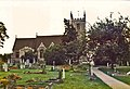 St Martin's Church, Bladon, Oxfordshire - geograph.org.uk - 73440.jpg
