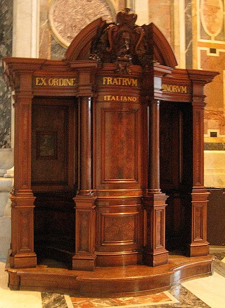 File:St Peters Basilica Confessional.jpg