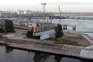Big port Saint Petersburg - Enter to Big port Saint Petersburg