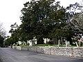 St Thomas Bedhampton, churchyard - geograph.org.uk - 1182673.jpg
