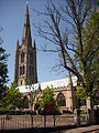 St Wulfram's, Grantham - from school.jpg