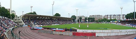 Panoramique du Stade Jean-Bouin (Paris)