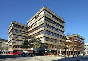Cologne Public Library - Central Library at Josef-Haubrich-Hof (Neumarkt)