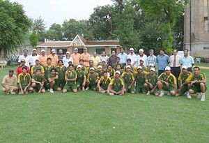 Shahid Anwar - Stags Cricket Academy Group Photograph