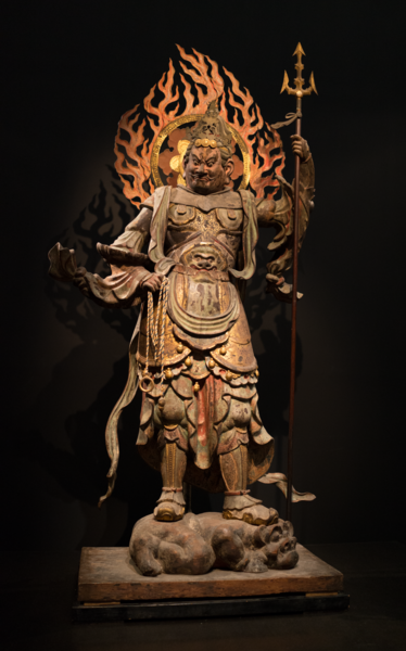 File:Standing Komoku Ten (Virupakusa) Heian Period, 12th century.tiff