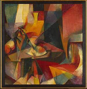 Stanton Macdonald-Wright - Synchromy No. 3, 1917, oil on canvas, 39 x 38 in. (99.1 x 96.5 cm), Brooklyn Museum