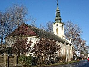 Stara Pazova - Image: Stara Pazova, Slovak Evangelical church