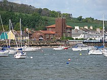 Starcross and the Brunel Pumping Station from the Exe - geograph.org.uk - 1285641.jpg