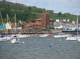 Starcross - Image: Starcross and the Brunel Pumping Station from the Exe geograph.org.uk 1285641
