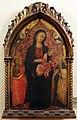 Starnina, madonna col bambino tra i ss. giovanni battista e antonio abate, 1400-10 ca.jpg