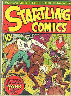 Fighting Yank - Image: Startling Comics 10Fighting Yank