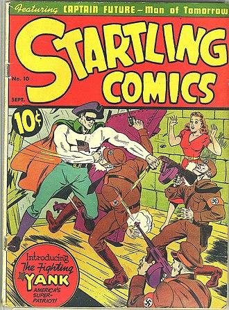 Fighting Yank - Image: Startling Comics 10Fighting Yank