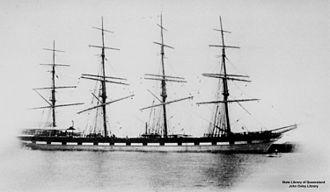 County of Peebles (ship) - Image: State Lib Qld 1 148935 County of Peebles (ship)