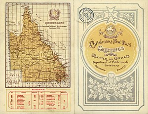Soldier settlement (Australia) - Map of Queensland Soldiers' Settlements October 1920