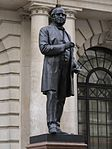 Statue of Rowland Hill, London, August 2014 06.jpg