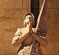 Statues of Jeanne d'Arc, Notre-Dame de Paris 2005.jpg