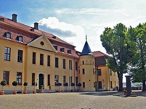 Stavenhagen - Schloss Stavenhagen (baroque castle)