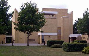 Johan Otto von Spreckelsen - Image: Stavnsholt Kirke