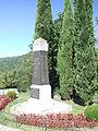 Ste Cécile d'Andorge Monument 9640.JPG