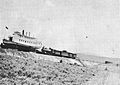 Steamer Klamath hauled by rail 1909.jpg