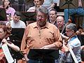 Stephen Gould, Ensaio Tristán e Isolda, Palacio da ópera, A Coruña 30.JPG