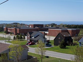 Stephenville, Newfoundland and Labrador - Stephenville High School, formerly St. Stephen's High School, in Stephenville, Newfoundland and Labrador