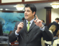 Steve Crisafulli gestures while offering debate of a measure considered on the House.png