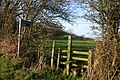Stile and Public Footpath - geograph.org.uk - 89696.jpg
