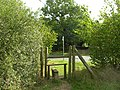 Stile at the A1184 - geograph.org.uk - 234177.jpg