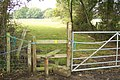 Stile on footpath to Apple Pie Farm - geograph.org.uk - 1499323.jpg