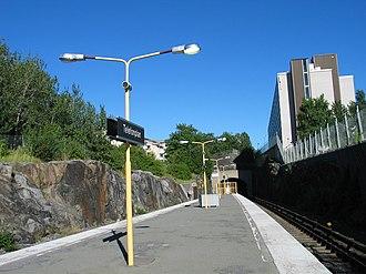 Telefonplan metro station - Image: Stockholm subway telefonplan 20050902 002