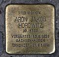 Stolperstein Alte Schönhauser Str 23-24 (Mitte) Aron Jakob Horowitz.jpg