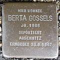 Stolperstein Bad Bentheim Am Berghang 5 Berta Gossels.JPG
