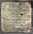 Stolperstein Helmstedter Str 27 (Wilmd) Hedwig Erlanger.jpg