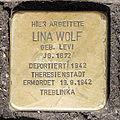 Stolperstein Lina Wolf, Hohe Straße 59-61, Köln-7261.jpg