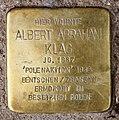 Stolperstein Lottumstr 17 (Prenz) Albert Abraham Klag.jpg