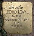 Stolperstein Pariser Str 11 (Wilmd) Benno Lewy.jpg