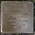 Stolperstein Remscheid Kölner Straße 99 Lilli Rosenbaum.jpg