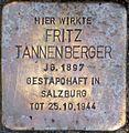 Stolperstein Salzburg, Fritz Tannenberger (Makartplatz 2).jpg
