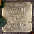Stolperstein Westfälische Str 59 (Halsee) Elise Cecilie Heidemann.jpg
